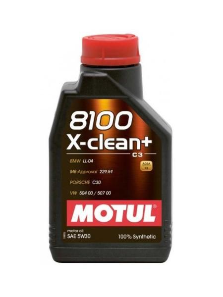 Motul 8100 X-Clean+ 1L 5W30