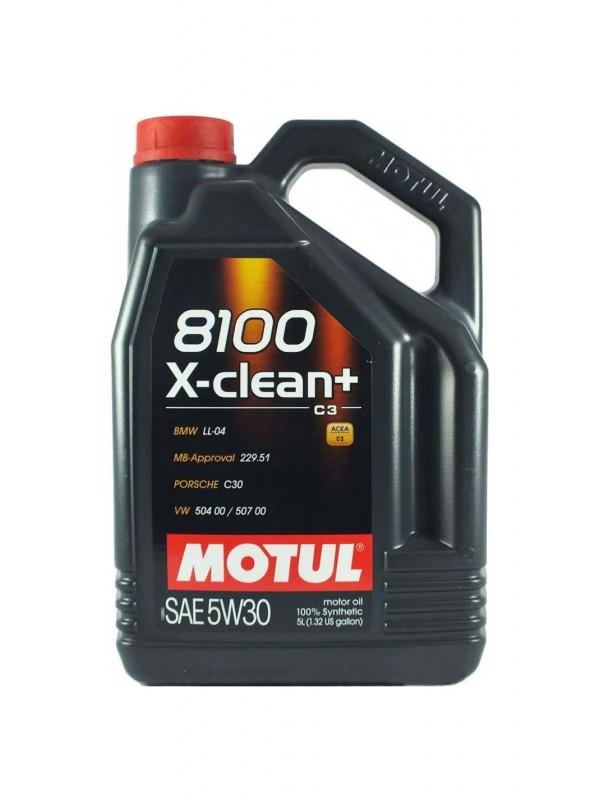MOTUL 8100 X-Clean+ 5L 5W30