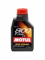 MOTUL 8100 X-Clean 1L 5W40