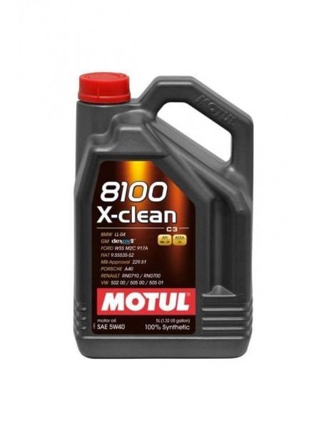 Motul 8100 X-Clean 5L 5W40