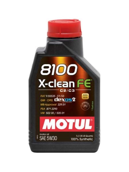 Motul 8100 X-Clean FE 1L 5W30