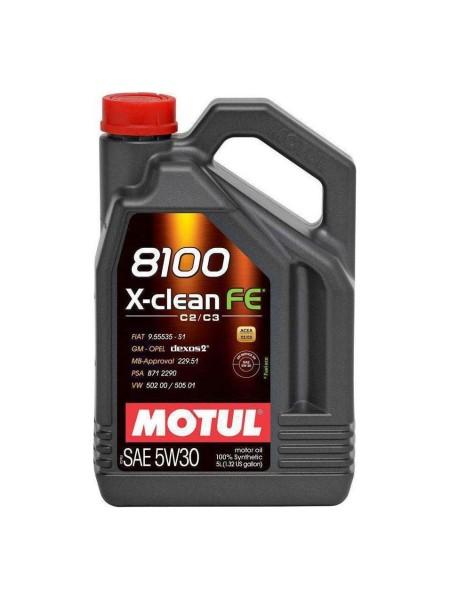 Motul 8100 X-Clean FE 5L 5W30