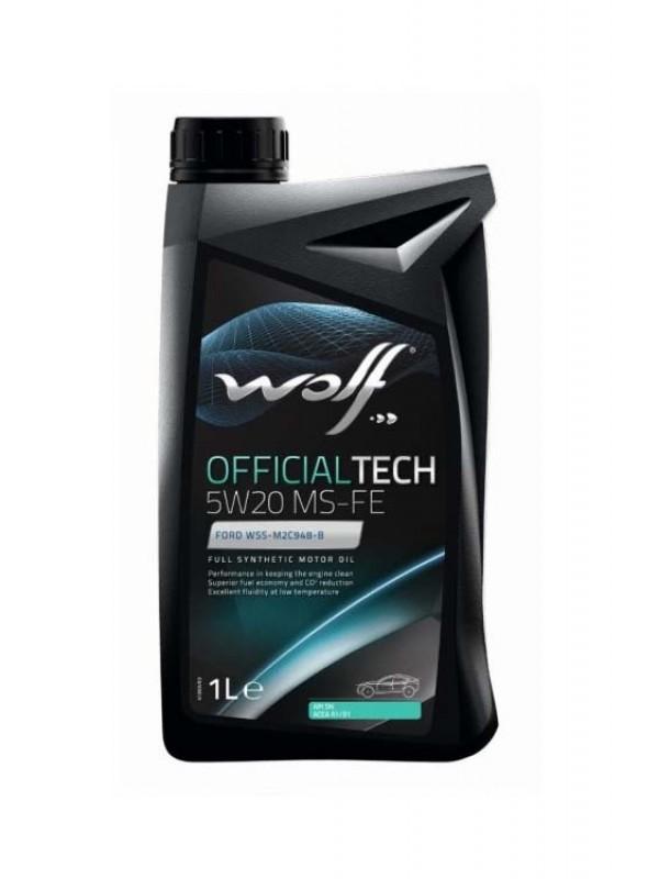 WOLF OfficialTech 1L 5W20 MS-FE