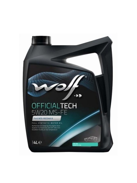 Wolf OfficialTech 5L 5W20 MS-FE