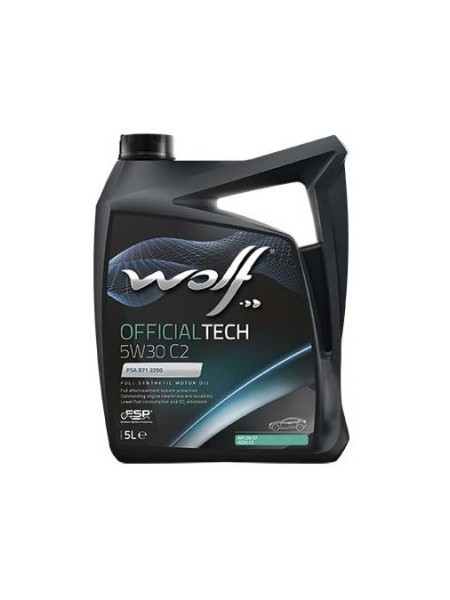 Wolf OfficialTech 5L 5W30 C2