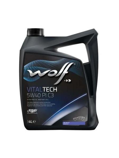 WOLF VitalTech 4L 5W40 PI C3