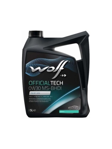 Wolf OfficialTech 5L 0W30 MS-BHDI