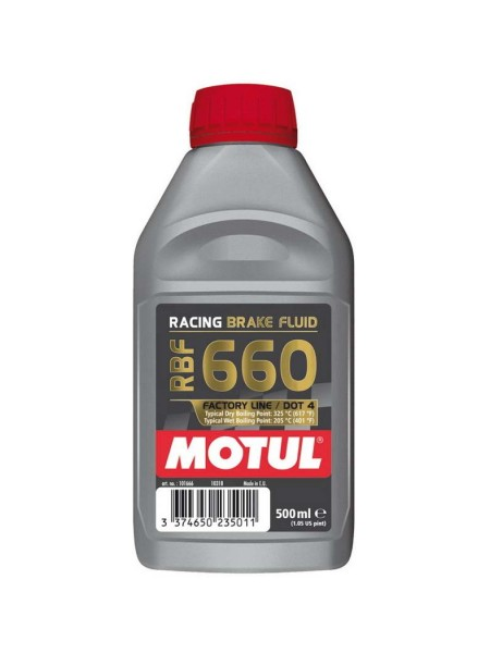 Motul Racing Brake Fluid 660 Factory Line 500ml