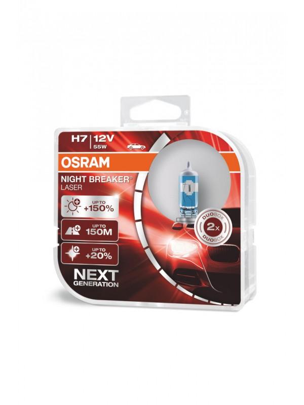OSRAM H7 Night Breaker Laser +150%