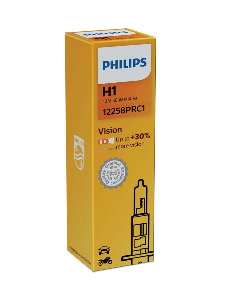 PHILIPS H1 Vision +30%
