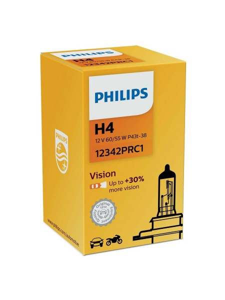 PHILIPS H4 Vision +30%