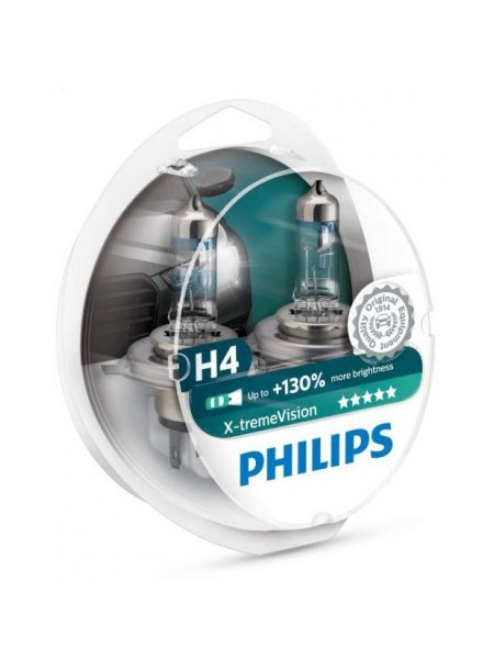 PHILIPS H4 X-treme Vision +130%