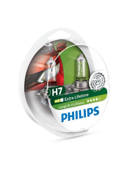 PHILIPS H7 LongLife EcoVision