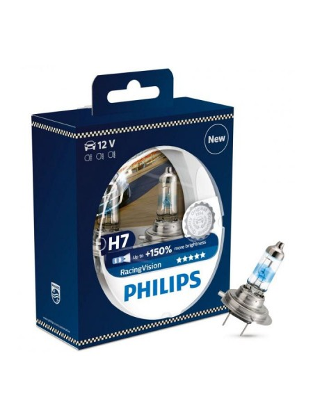 PHILIPS H7 Racing Vision +150%