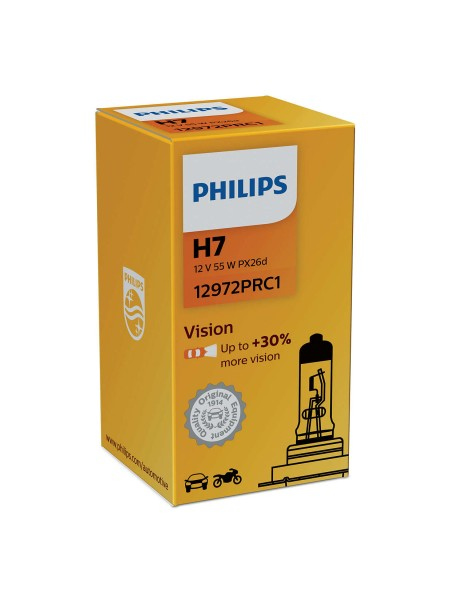 PHILIPS H7 Vision +30%