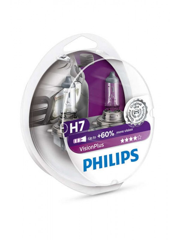 PHILIPS H7 Vision Plus +60%