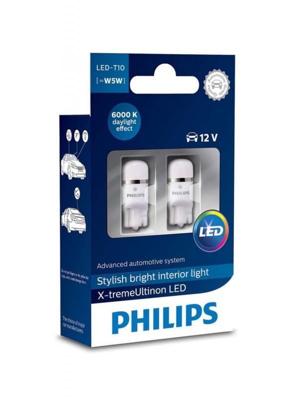 PHILIPS T10 X-tremeUltinon 6000k