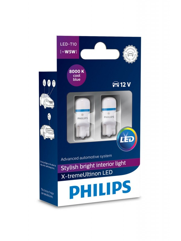 PHILIPS T10 X-tremeUltinon 8000k