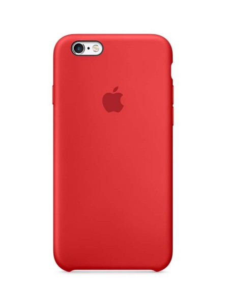 Apple Silicone Case iPhone 6/6S Red
