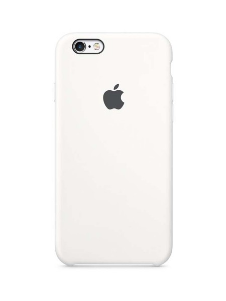 Apple Silicone Case iPhone 6/6S White