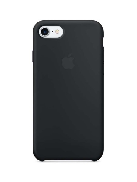 Apple Silicone Case iPhone 7/8 Black