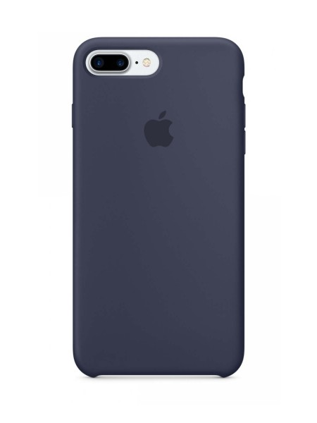 Apple Silicone Case iPhone 7+/8+ Midnight Blue
