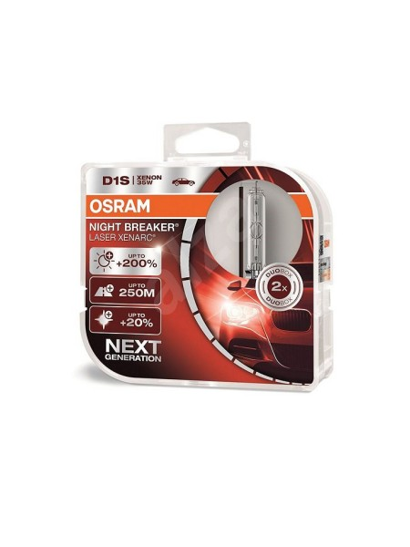OSRAM D1S Night Breaker Laser Xenarc +200%