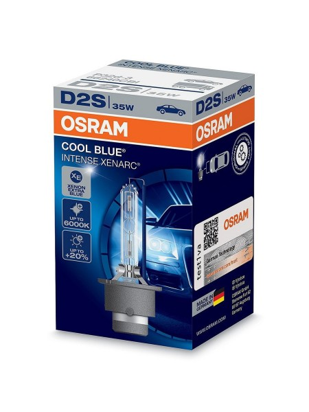 OSRAM D2S Cool Blue Intense Xenarc 5500k