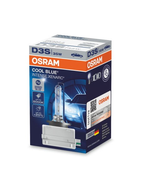 OSRAM D3S Cool Blue Intense Xenarc 5500k